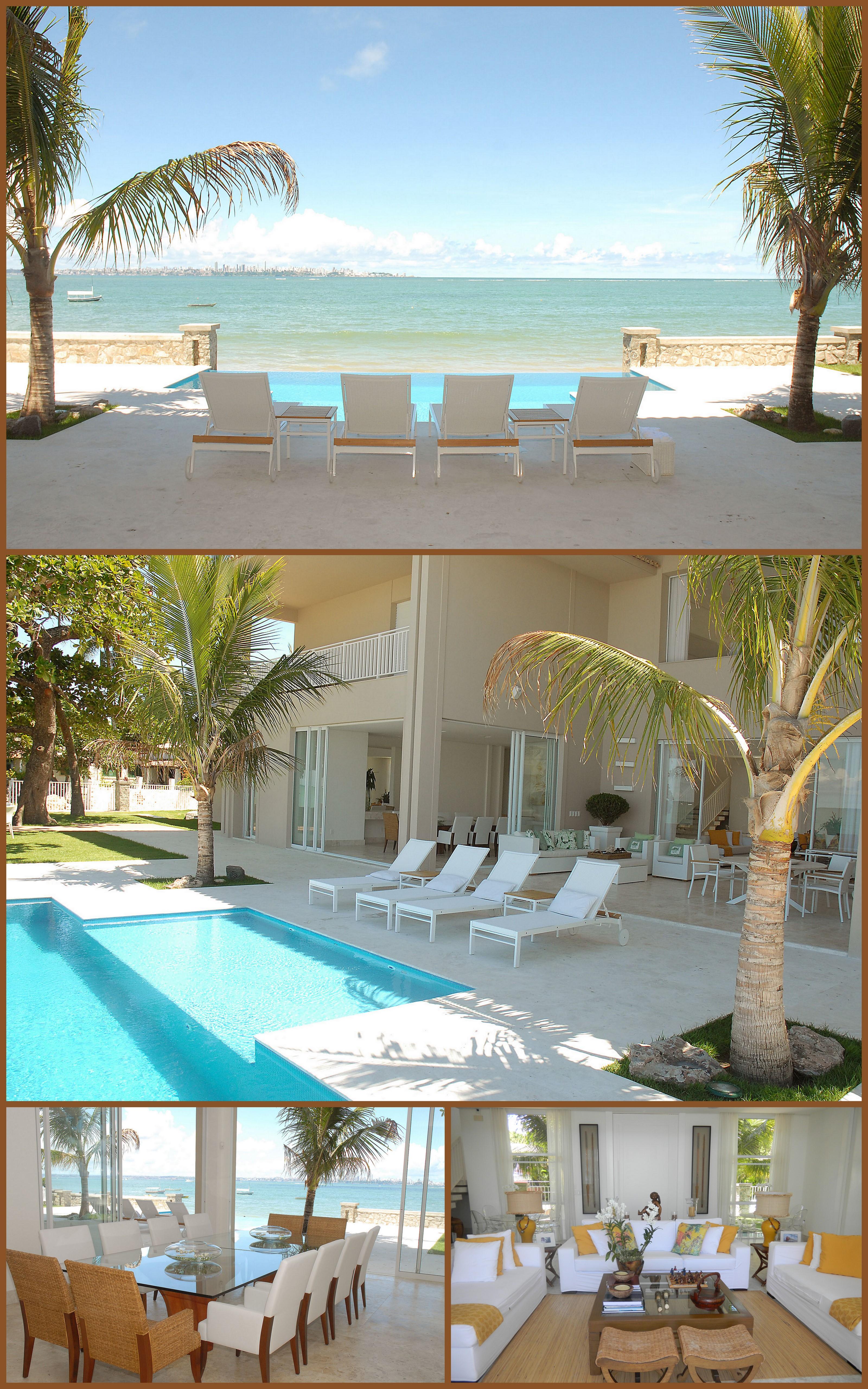 Casa de praia contempor nea for Casa contemporanea