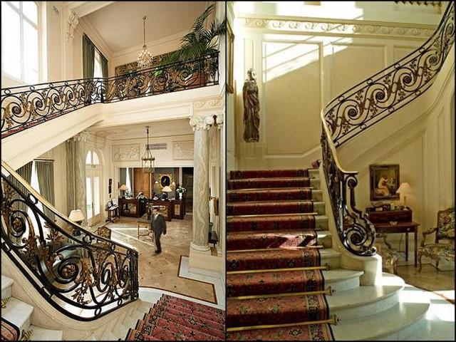 decoracao interiores estilo frances:Vejam a escada………… Super imponente!!