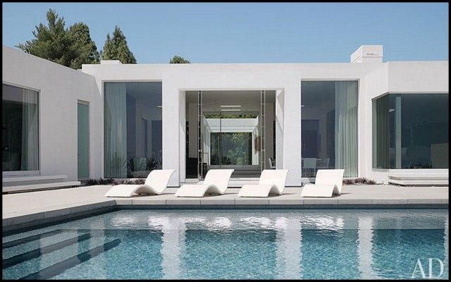 Casa contempor nea em beverly hills for Casa minimalista harborview hills