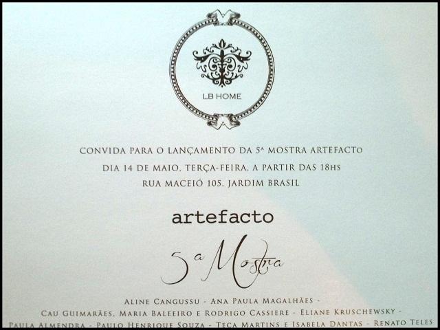 Andrea Rudge Mostra Artefacto 2013